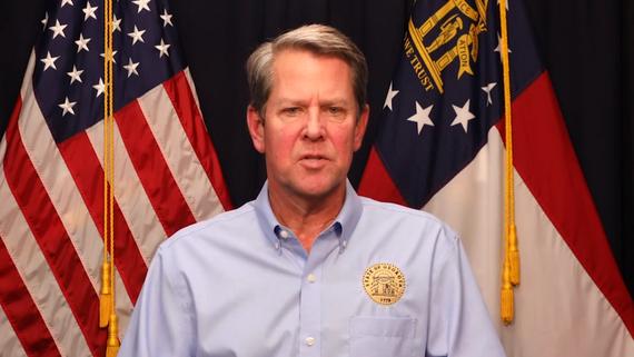 Thống đốc Brian Kemp