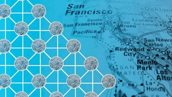 Các dự án tài chính phi tập trung đã thu hút được sự quan tâm của các nhà đầu tư ở Thung lũng Silicon © FT