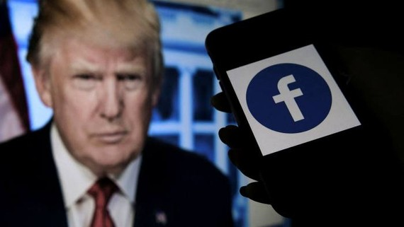 Facebook barred Donald Trump from its platform for voicing support for the US Capitol rioters on January 6. The ban will only be lifted if the company feels 'the risk to public safety has receded' © AFP via Getty Images