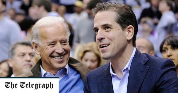 TT Mỹ Joe Biden và con trai Hunter Biden.