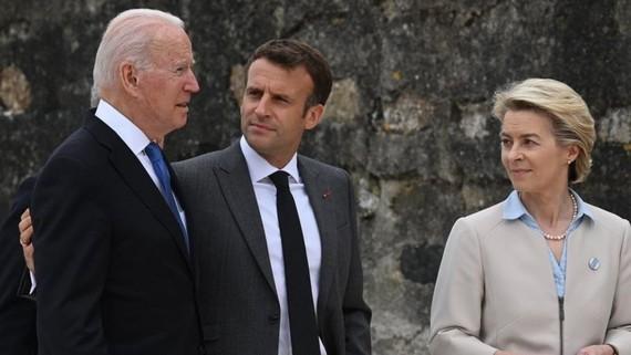 Tổng thống Biden gặp các lãnh đạo thế giới ở Cornwall, Anh Quốc