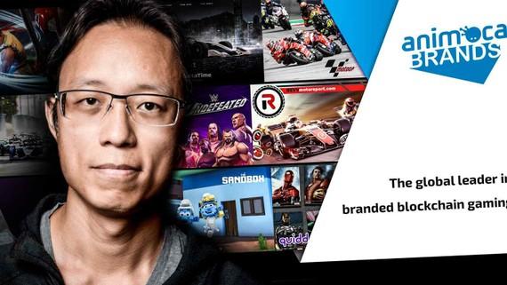 Yat Siu, đồng sáng lập và Giám đốc điều hành của Animoca Brands. Ảnh: Animoca Brands