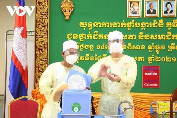 Campuchia có kế hoạch tiêm phòng Covid-19 cho khoảng 10 triệu người vào tháng 11 tới.