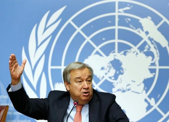 Tổng Thư ký Liên hợp quốc Antonio Guterre