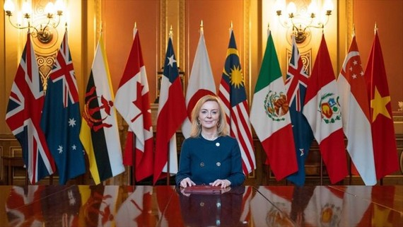 Bộ trưởng Thương mại Quốc tế của Anh Liz Truss - Ảnh: BBC