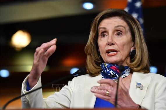 Chủ tịch Hạ viện Hoa Kỳ Nancy Pelosi đã từ chối chấp nhận việc bổ nhiệm của Jim Banks và Jim Jordan. Ảnh: Elizabeth Frantz / Reuters