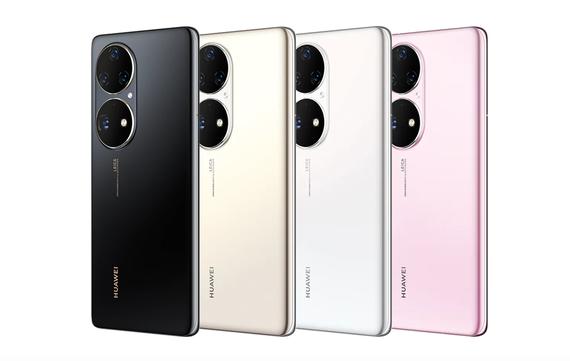 Mẫu Huawei P50 Pro được sản xuất với bốn màu. Ảnh: Huawei
