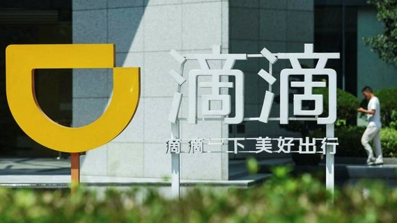 Cơ quan quản lý internet của Trung Quốc đã cáo buộc Didi Chuxing vi phạm luật dữ liệu cá nhân vài ngày sau khi huy động được 4 tỷ đô la ở New York © AFP qua Getty Images