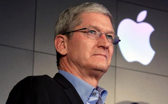 Tim Cook, CEO của Apple - Ảnh: Getty Images