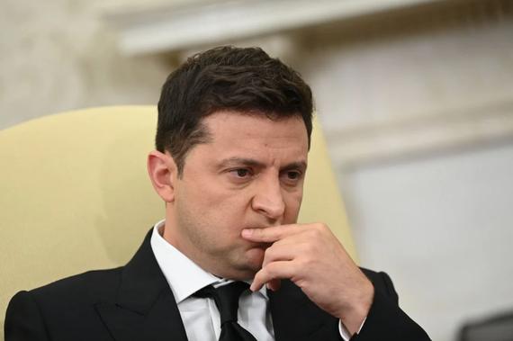 Tổng thống Ukraine Volodymyr Zelensky. Ảnh: AFP