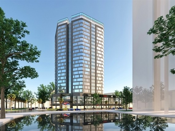 Rents on the Ha Noi office market are expected to also remain stable as there are limited prime projects coming until 2023. — Photo baotintuc.vn
