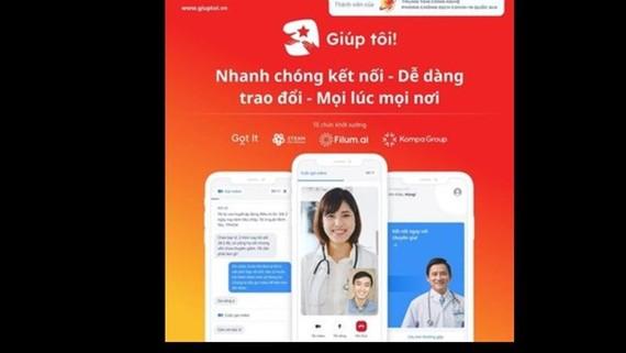 Interface of Giuptoi app. (Photo: Internet)