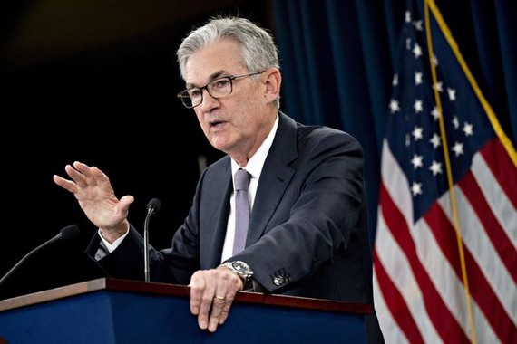 Chủ tịch Fed Jerome Powell - Ảnh: Bloomberg.