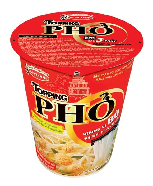 Ra mắt sản phẩm PHỞ LY TOPPING