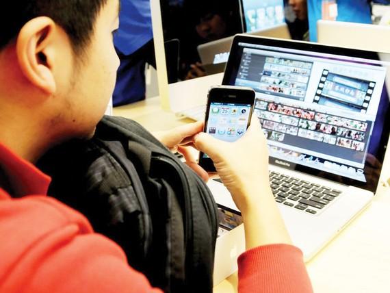 Thị trường ứng dụng điện thoại di động Trung Quốc tăng trưởng mạnh
