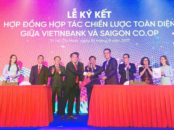 Saigon Co.op và VietinBank hợp tác tăng tiện ích cho người tiêu dùng