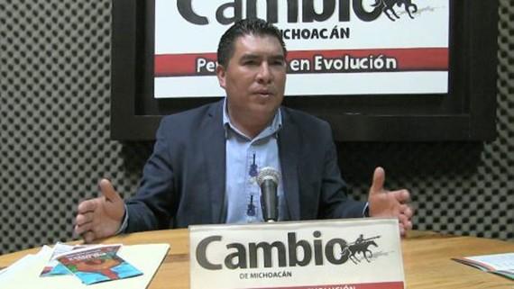 Thị trưởng Stalin Sánchez González. (Ảnh: Cambio de Michoacán)