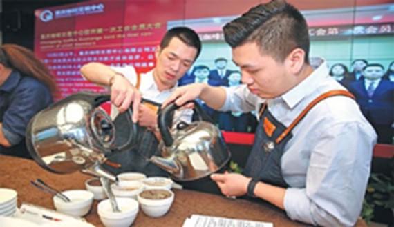 Trung tâm giao dịch cà phê lớn nhất Trung Quốc