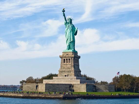 Tượng Nữ thần Tự do mở cửa trở lại