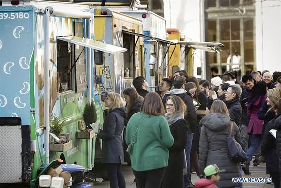 Lễ hội thức ăn đường phố ở Vancouver