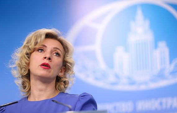 Người phát ngôn Bộ Ngoại giao Nga Maria Zakharova. Ảnh: TAS