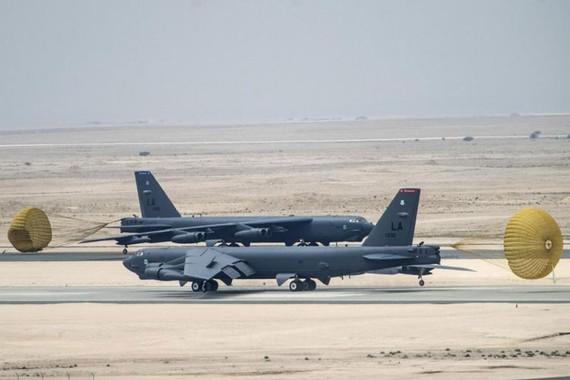 Máy bay ném bom B-52 của quân đội Mỹ. Ảnh: Reuters