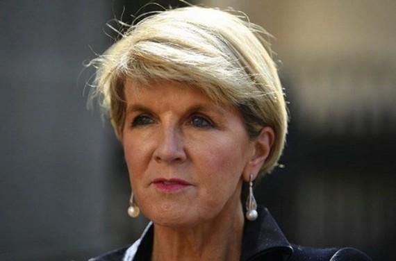 Ngoại trưởng Australia Julie Bishop. (Nguồn: afr.com)