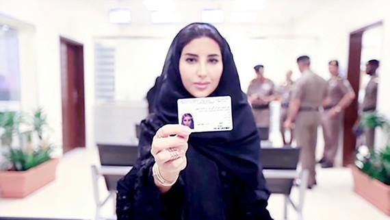 Phụ nữ Arab Saudi được cấp bằng lái xe