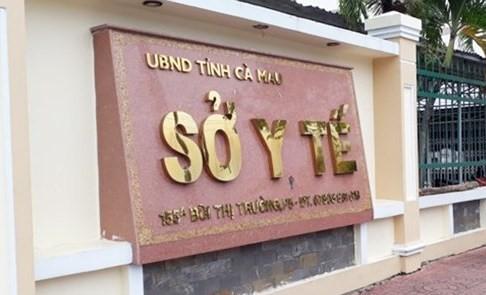 Nguyên Giám đốc Sở Y tế Cà Mau bị đề nghị cảnh cáo về mặt chính quyền