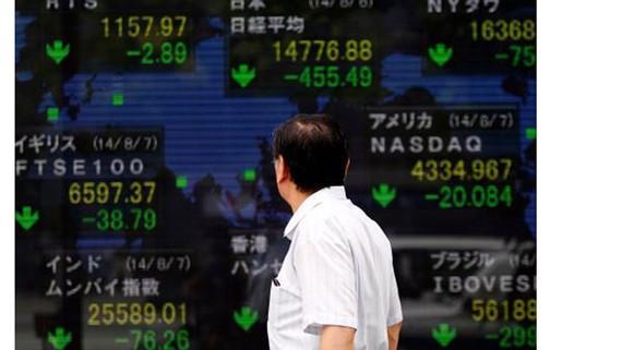 Chứng khoán Nhật Bản tăng 0,3%. Ảnh minh họa: Reuters