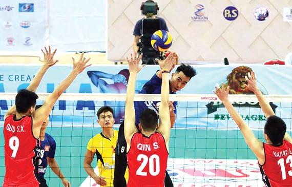 Sanest Khánh Hòa đánh bại Tứ Xuyên Trung Quốc