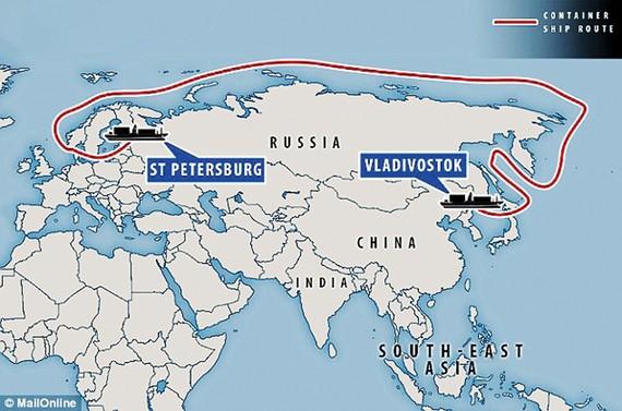 Nga thử nghiệm tuyến đường biển mới