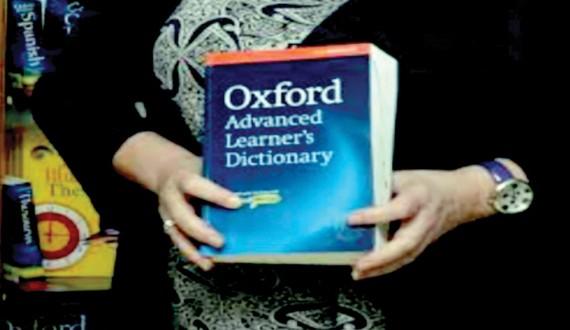 Oxford chọn từ của năm