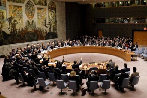 Pháp và Anh đề nghị Hội đồng Bảo an họp khẩn để thảo luận về việc thử nghiệm hạt nhân của Iran. Ảnh: REUTERS
