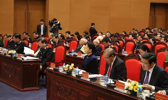 Chủ tịch Quốc hội Nguyễn Thị Kim Ngân tham dự Hội nghị triển khai công tác ngành KSND năm 2019