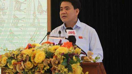 Chủ tịch UBND TP Hà Nội Nguyễn Đức Chung