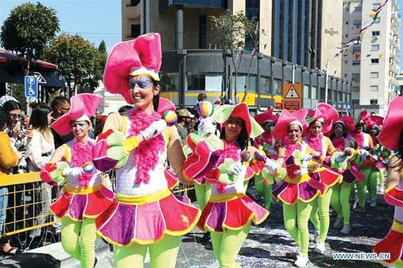 Carnival lớn nhất thập niên ở CH Cyprus
