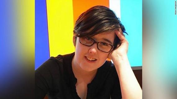 Nữ nhà báo Lyra McKee. (Nguồn: CNN)