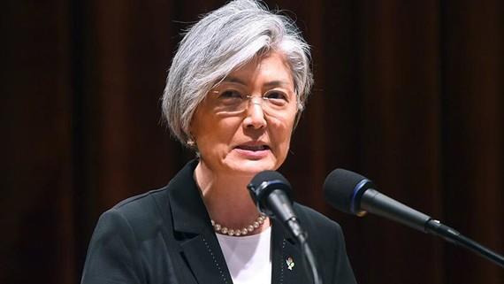 Ngoại trưởng Hàn Quốc Kang Kyung-wha. Ảnh: Sputnik
