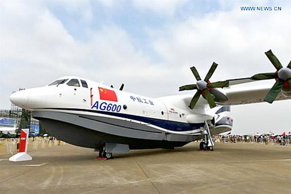 Trung Quốc thử nghiệm thủy phi cơ khổng lồ