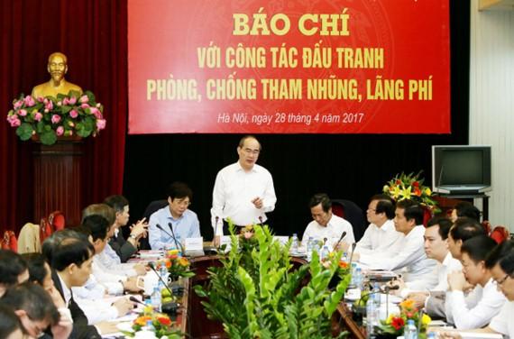 Chủ tịch Ủy ban Trung ương MTTQ Việt Nam Nguyễn Thiện Nhân