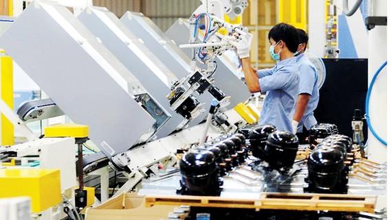 Một nhà máy sản xuất thiết bị điện tử ở Indonesia
