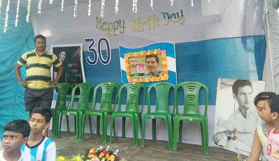 Messi được tổ chức sinh nhật tại Ấn Độ