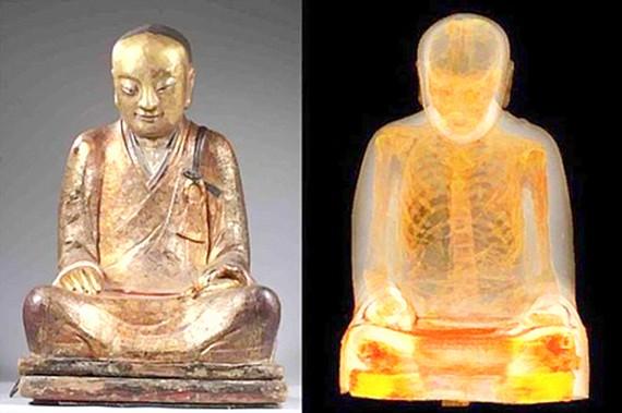 Đòi xác ướp nhà sư trong tượng Phật