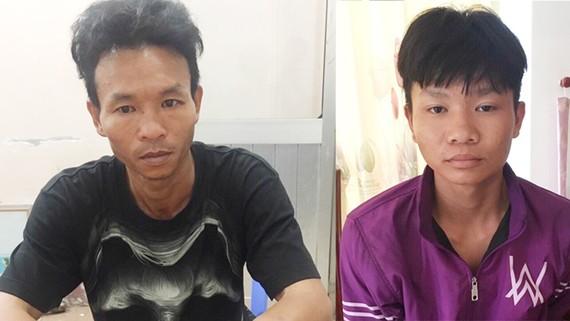 Hai anh em Vũ và Phú đã bị bắt tại huyện Phú Quốc, Kiên Giang.