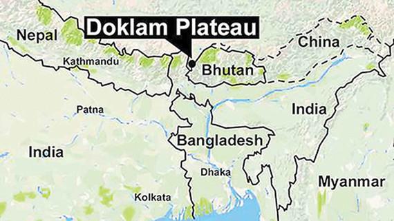 Khu vực cao nguyên Doklam đang tranh chấp mà Trung Quốc gọi là Donglang