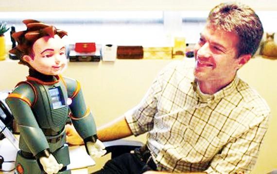 Robot phát hiện người bị mất trí nhớ