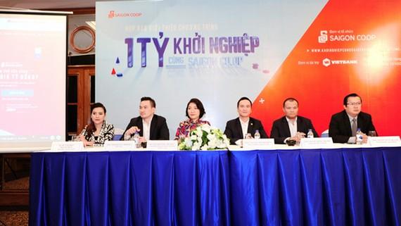 """Họp báo ra mắt chương trình """"1 Tỷ Khởi nghiệp cùng Saigon Co.op"""""""