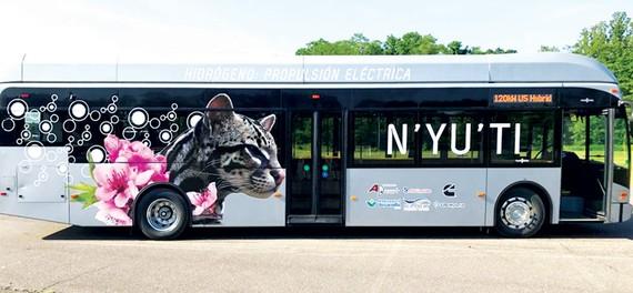 Costa Rica lưu hành xe buýt hydro