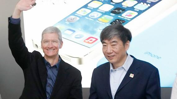 Apple doanh thu khủng tại Trung Quốc